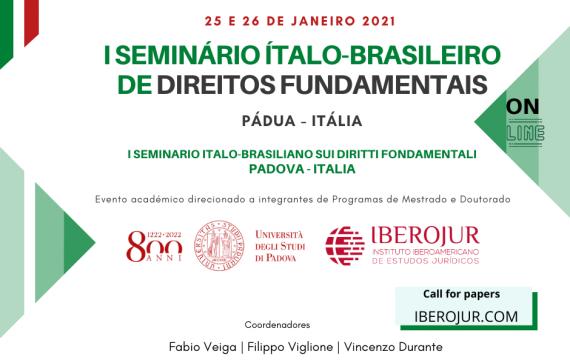 I Seminário Ítalo-Brasileiro de Direitos Fundamentais – PÁDUA, Itália